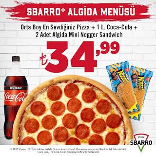sbarro pizza kampanya fırsatları 2021