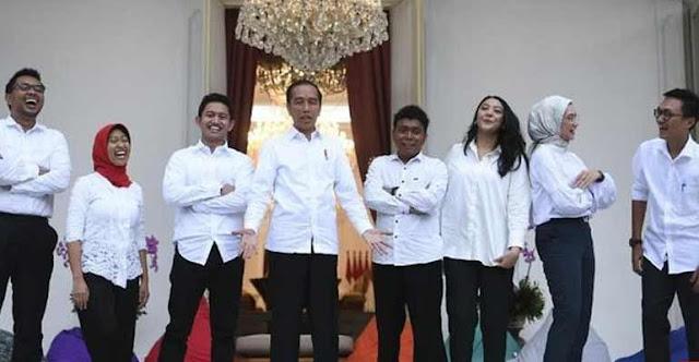 Gaji Staf Khusus Jokowi Rp51 Juta, Jansen: Teserah Kalian deh, Negara kan Kalian Punya
