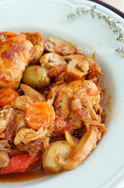 Φιλετάκια Κοτόπουλου με Μανιτάρια