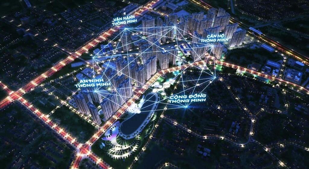 Hệ thống an ninh đảm bảo tại khu đô thị Vinhomes Smart City