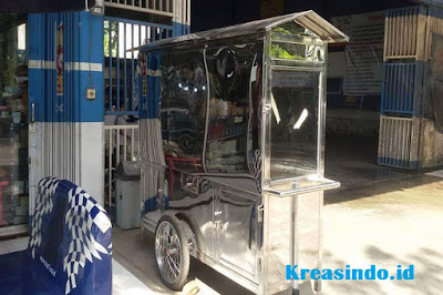 Jasa Gerobak Stainless Gorengan di Bekasi dan sekitarnya