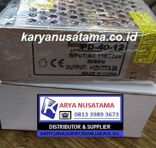 Jual Power Supply  DC 12V 3.2a 40w di Surabaya