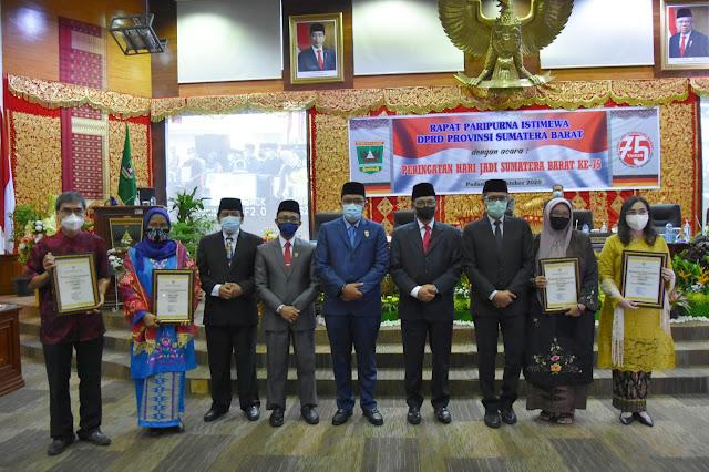 HUT Sumatera Barat Ke 75 Tahun 2020, Dihadiri  Gamawan Fauzi Dan Yulizal Yunus Sejarawan Minangkabau