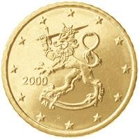 Suomi 50 senttiä kolikko