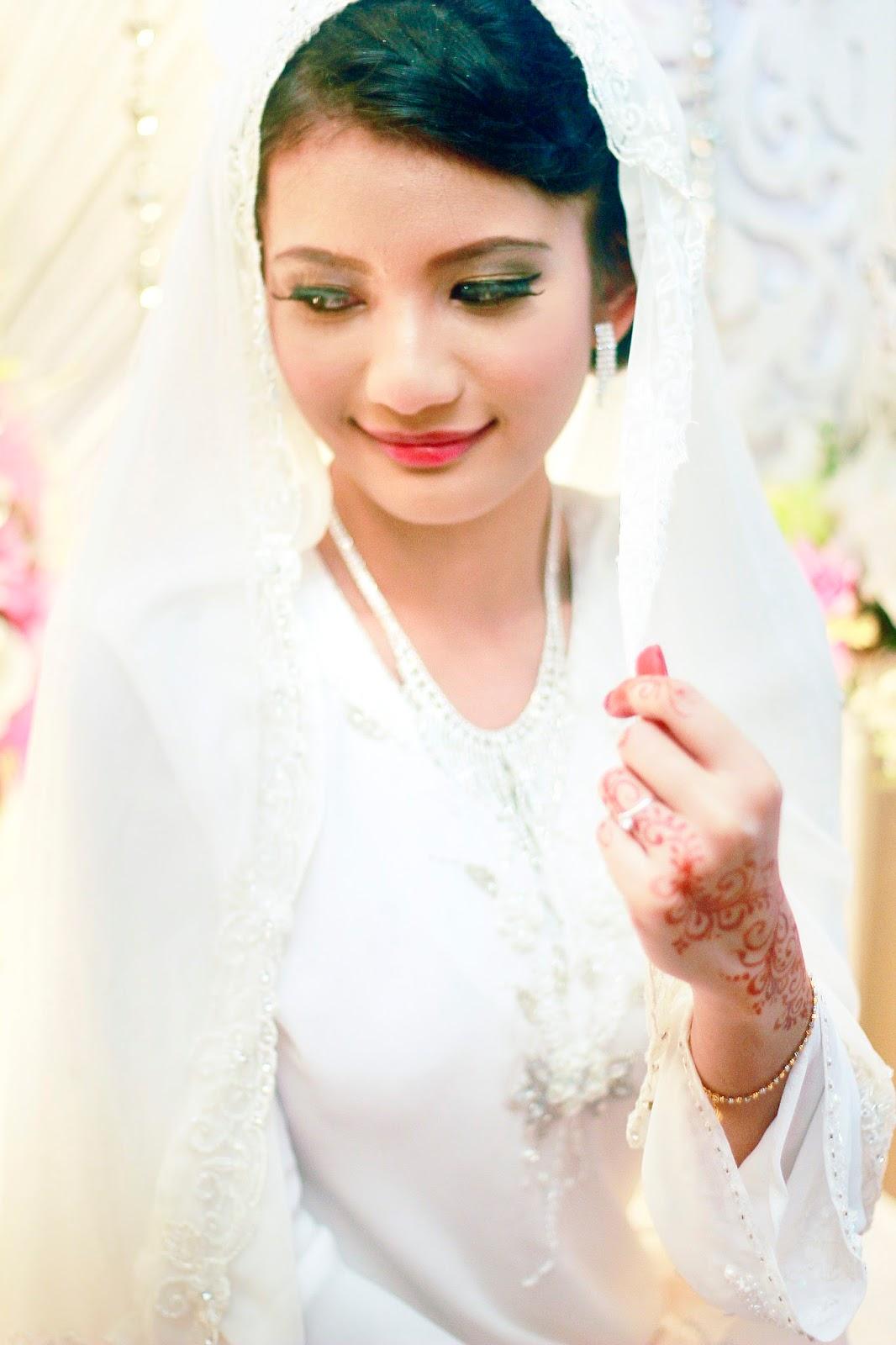 Makeup natural masa hari perkahwinan ❤