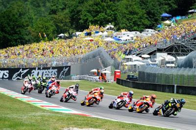 Penyebab kegagalan Mesin Yamaha di MotoGP 2016, Mugello
