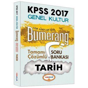 Yediiklim KPSS Tarih Bumerang Tamamı Çözümlü Soru Bankası 2017