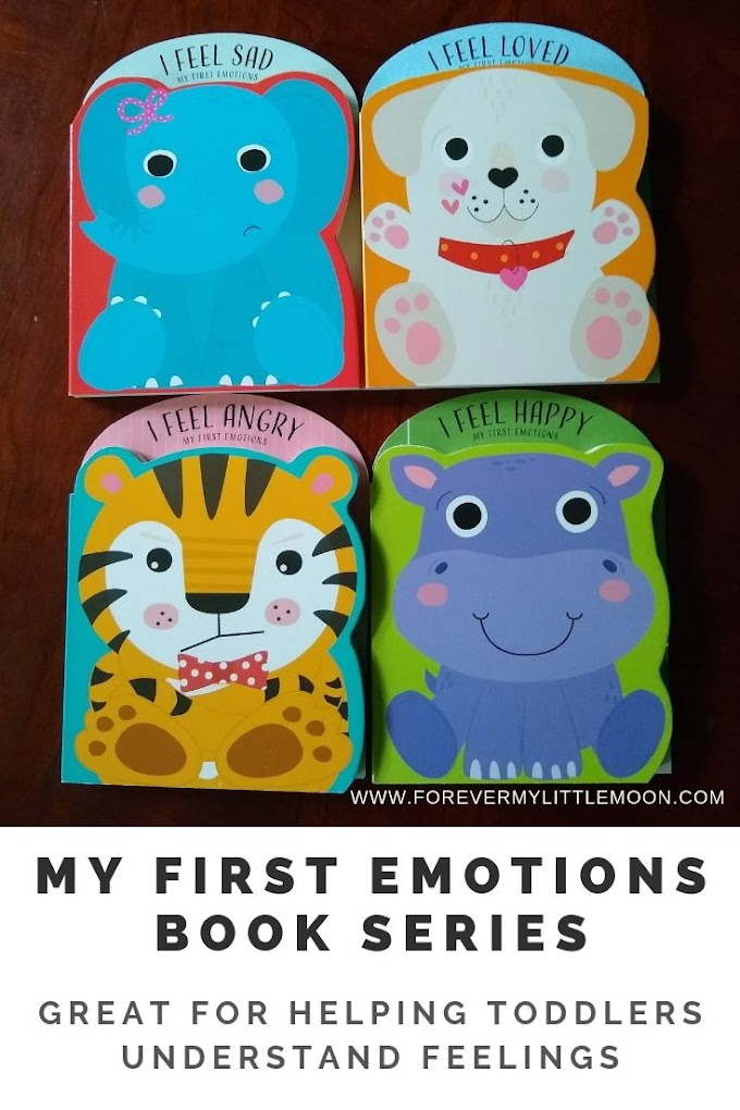 """My First Emotions"" Book Series is Great for Helping Toddlers Understand Feelings"