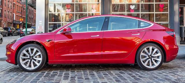 2020 Tesla Model 3 Base w/Long Range Battery Engine ...