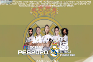 FTS 2020 Mod PES 2020 Real Madrid