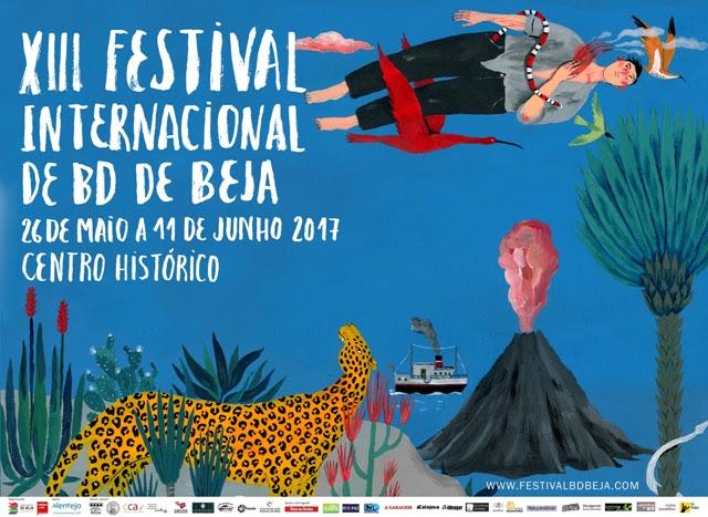 Beja é o sítio! Está aí o XIII Festival Internacional de BD!