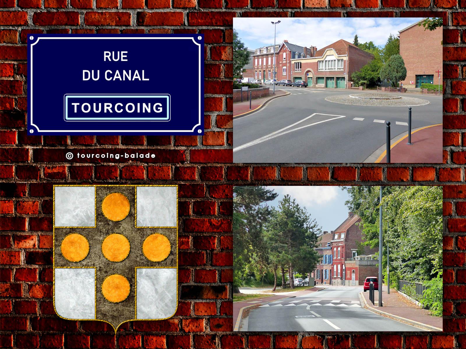 Rue du Canal, Tourcoing Blanc Seau