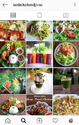kuliner organik enak di Jogja Kolondjono
