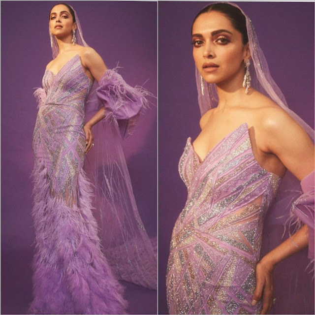 Deepika Padukone Wears Gaurav Gupta at IIFA 2019