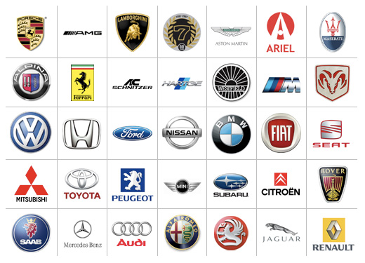 WALLPAPERSHUB4U: Top Car Manufacturer List