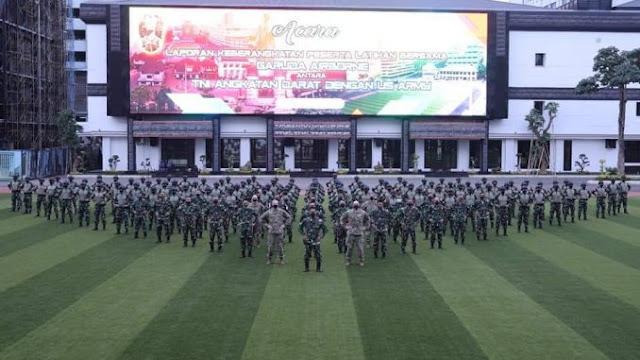 KSAD Kirim Prajurit TNI AD Ikuti Latihan Garuda Airborne Di Amerika Serikat