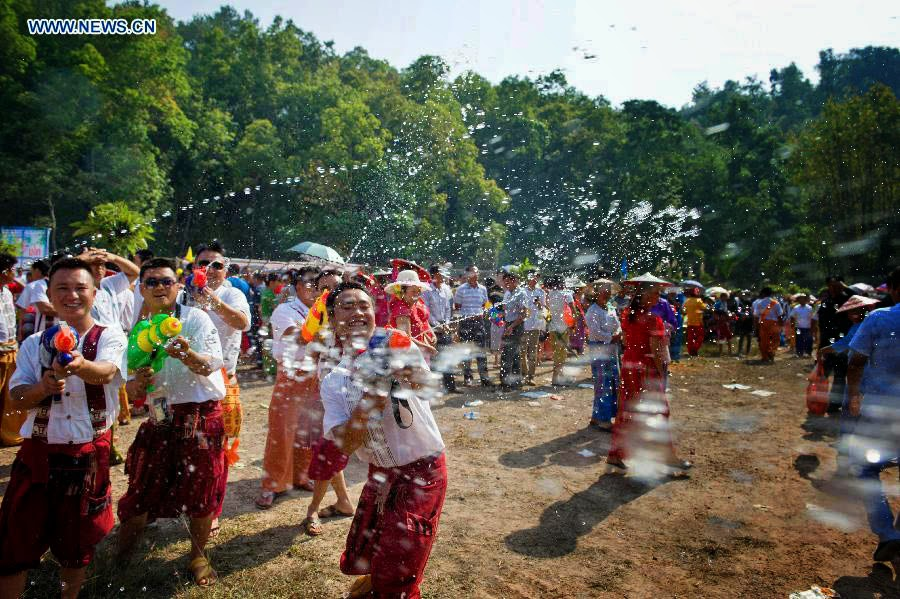 8d973751e2d179 Gerrys Blog: Celebration for Water-Splashing Festival