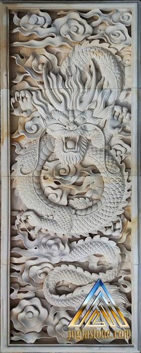 gambar relief naga