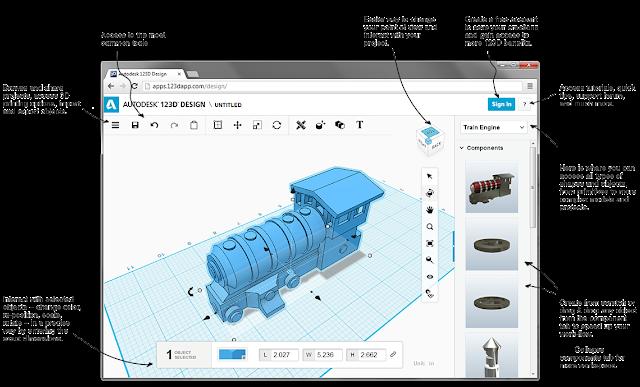 . Autodesk 123D Design Software free Download for Windows Mac
