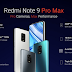 So sánh cấu hình Xiaomi Redmi Note 9 Pro và Redmi Note 9 Pro Max