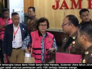 Empat Tersangka Korupsi Dana Hibah Banjir Kota Manado di Tahan