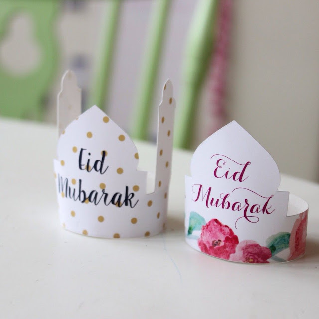 Dekorasi Ramadhan Mahkota dari Kertas