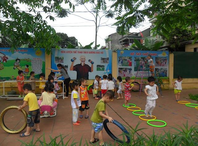 Biện pháp rèn luyện các kỹ năng vận động cơ bản cho trẻ mẫu giáo 3 - 4 tuổi