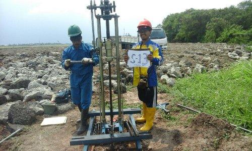 Disinilah Jasa Sondir Boring / Soil Test Pontianak , Kalimantan Barat