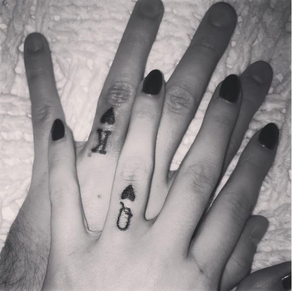 50 Matching Wedding Ring Tattoos On Finger 2018 TattoosBoyGirl