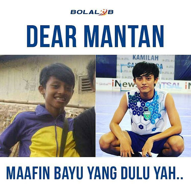 Meme Dear Mantan atlit