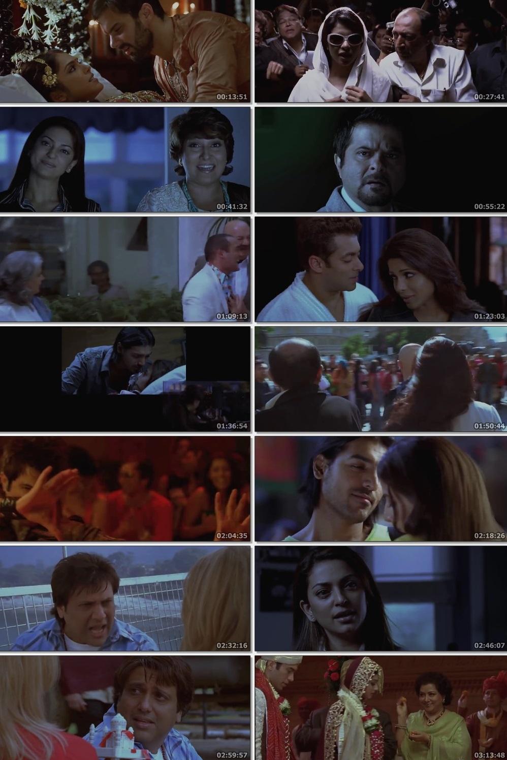 Screen Shot Of Salaam-E-Ishq  2007 Full Movie Free Download HD 720P Watch Online