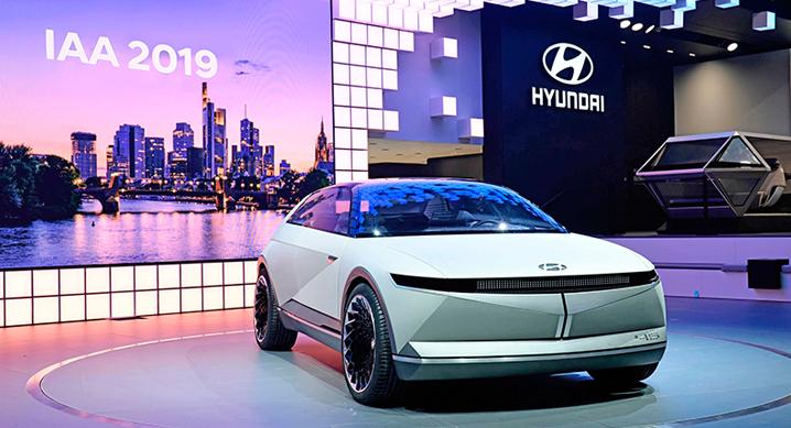 현대자동차, '2019 프랑크푸르트 모터쇼' EV 콘셉트카 45 세계 최초 공개