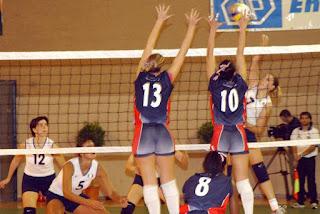 Teknik Dasar Blocking Dalam Permainan Bola Voli
