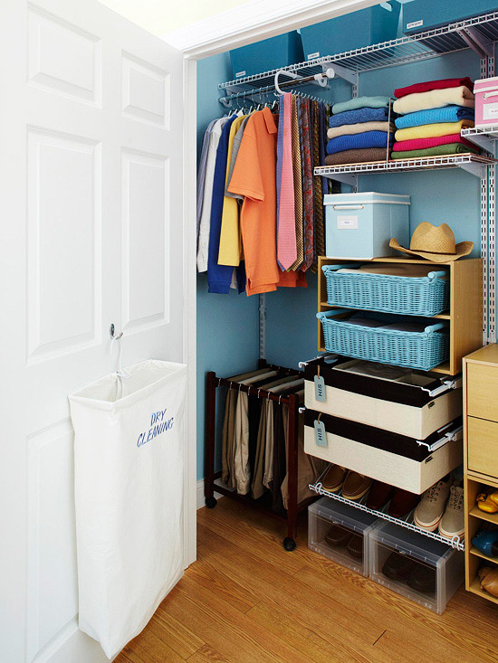 1 Make Four Piles The Great Closet Clean Out Is Your: New Home Interior Design: Smart Ways To Declutter And