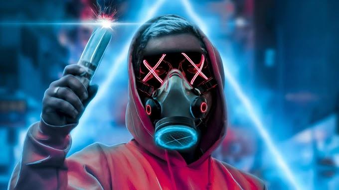Papel de Parede Anonymous 3D