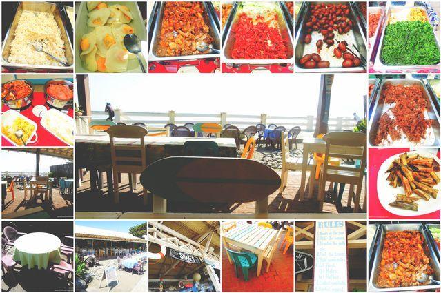 Hungry Surfer restaurant in Baler
