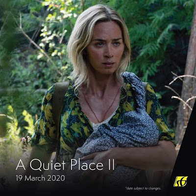 Senarai Filem Yang Akan Keluar di Panggung Wayang Tahun 2020 - A Quiet Place II (2020)