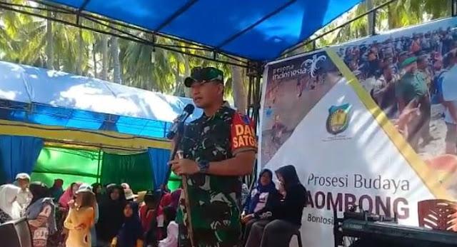 Dansatgas TMMD ke-102 : TNI Bersama Polri, Siap Dukung dan Sukseskan Program Kerja Pemkab Kep Selayar