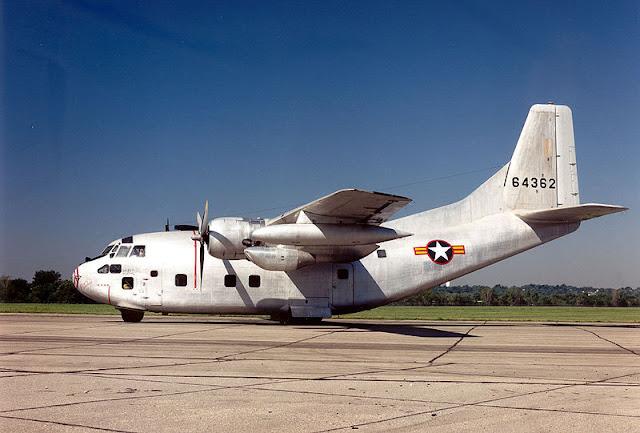 Gambar 26. Foto Pesawat Angkut Militer Fairchild C-123 Provider