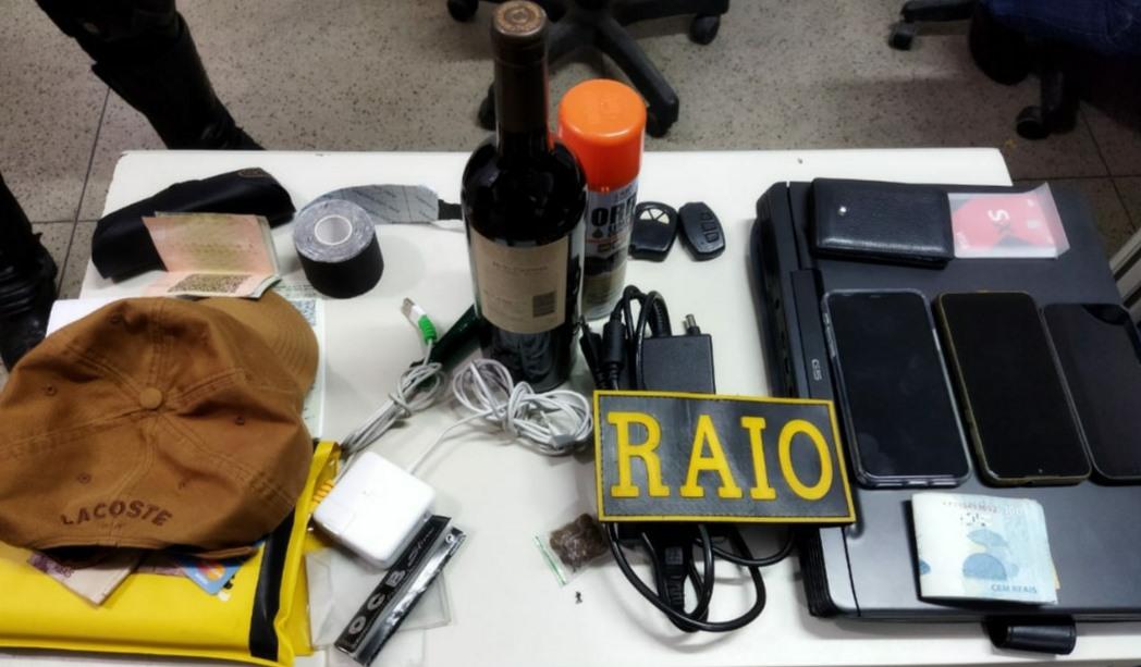 PM prende em Crato, suspeitos de furtos em veículos em estacionamento de Shopping em Juazeiro do Norte