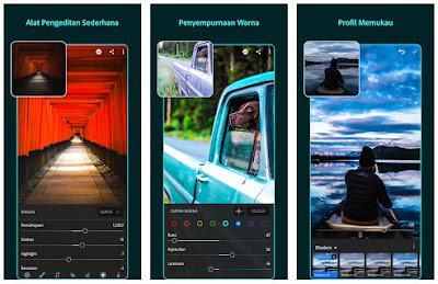 Aplikasi edit foto terbaik android