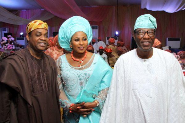 Despite Mother's opposition: Obasanjo's son weds daughter of