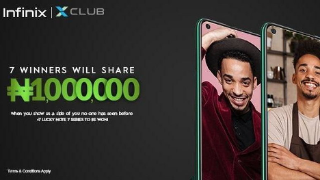 The Generation X: Infinix remains firm in its devotion towards empowering youths. #Arewapublisize