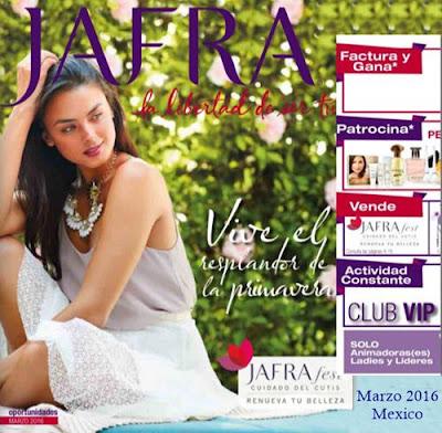 jafra oportunidades marzo 2016