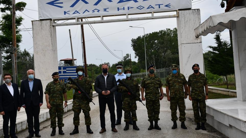 Καλαφάτης στον Έβρο: «Εδώ χτυπά πιο δυνατά η καρδιά της Ελλάδας»