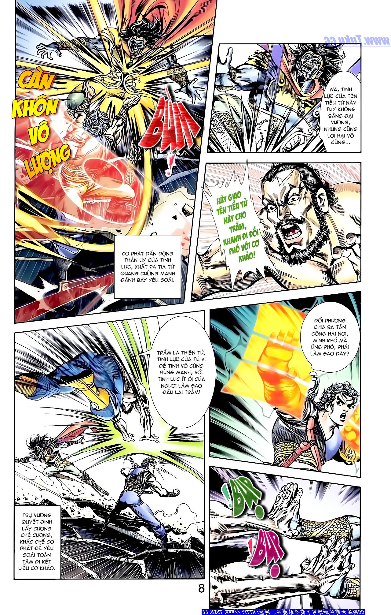 Cơ Phát Khai Chu Bản chapter 149 trang 9