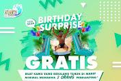 Atlantis Promo Birthday Surprise Gratis Masuk Untuk Yang Berulang Tahun!
