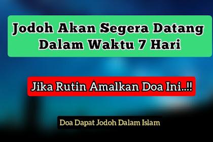 Doa Agar Cepat Dipertemukan Jodoh Dalam Islam