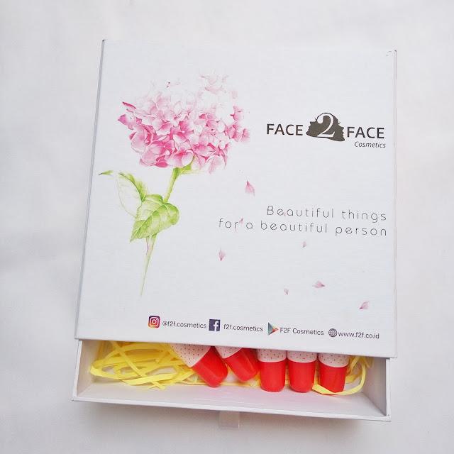 Produk lengkap Face 2 Face Cosmetics
