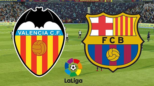 Prediksi Valencia vs Barcelona 8 Oktober 2018 La Liga Spanyol Pukul 01.45 WIB